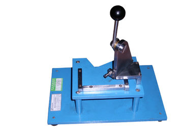 Professional Paper Testing Equipments Cardboard Angle Cutter Machine